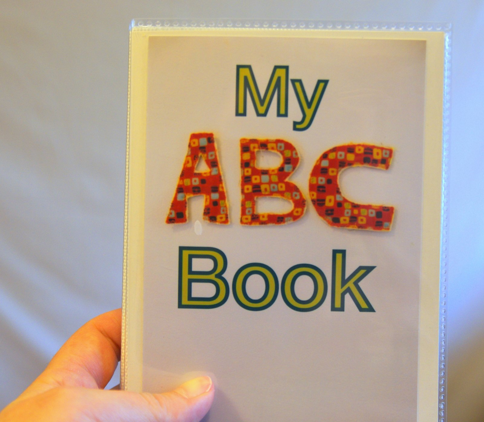 Collaborative Baby Shower Gift An Abc Photo Book Happy Stuff