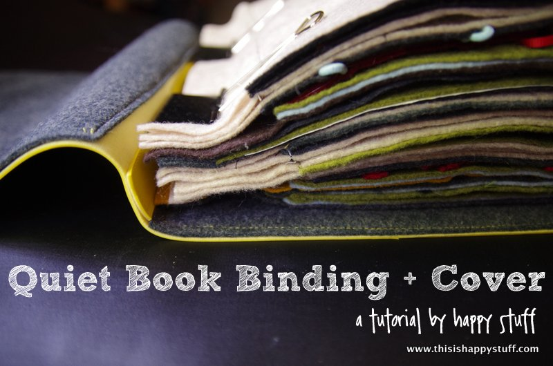 Busy Book Cover Tutorial ~ Busy book round up happy stuff