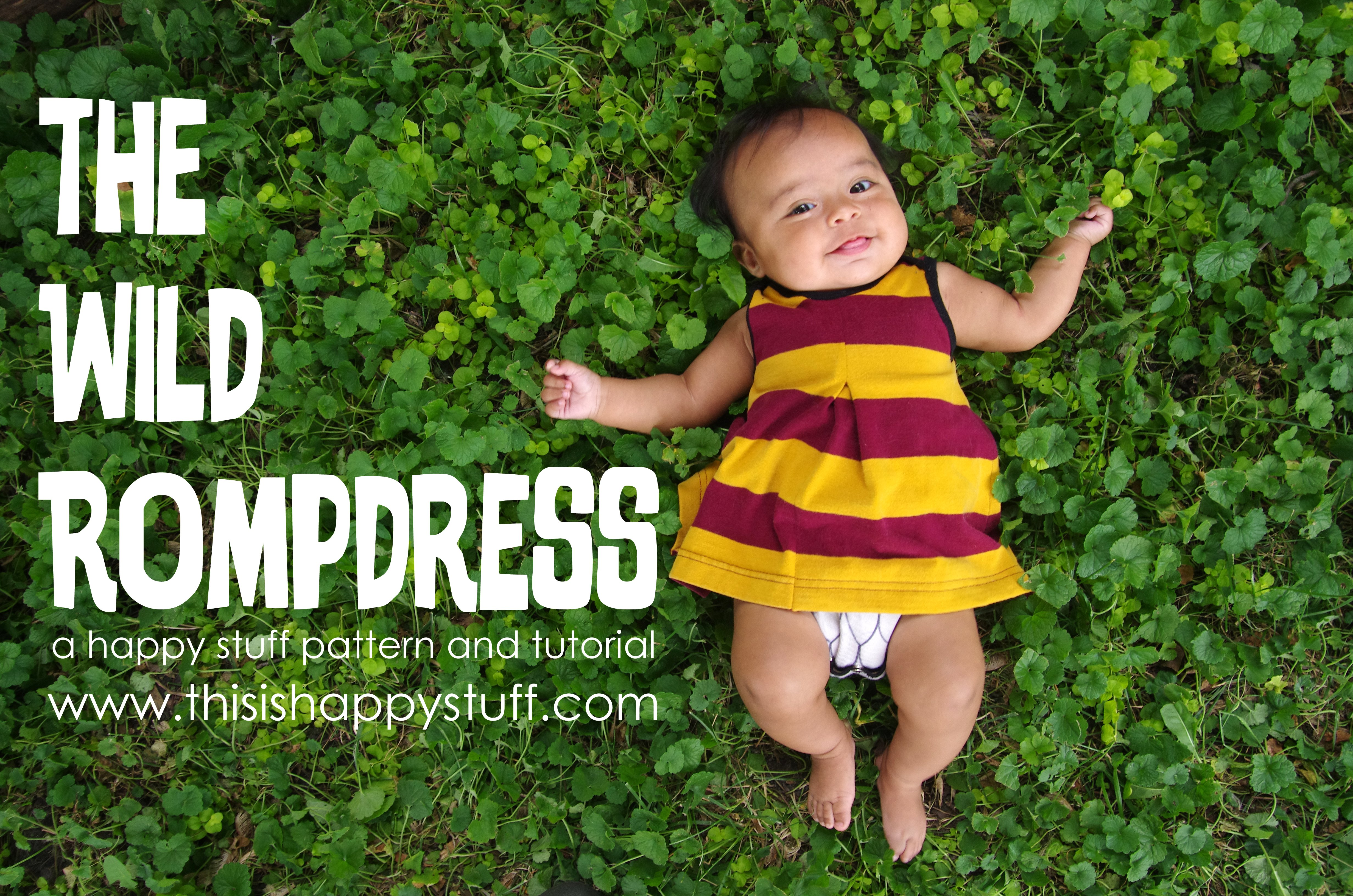 the wild rompdress :: www.thisishappystuff.com